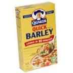 Quaker Quick Barley, 11 Ounce -- 12 per case.