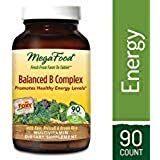 MegaFood - Balanced B Complex, Promotes Energy & Health of the Nervous System, 90 Tablets (FFP)