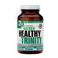 Natren Healthy Trinity Dairy Free Probiotic Capsules, 60 Ct (Ships ()