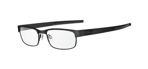Oakley Metal Plate (53) Eyeglass Frames - Matte Black