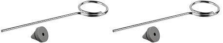 Ives Commercial SR64BG Door Silencer for Metal Frame, Rubber, 100 per Bag (5) ()