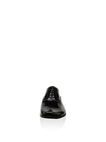 Oxford de piel negro ANIKA-NEGRO