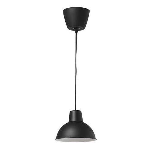 IKEA SKURUP - Lámpara de techo (19 cm, A++), color negro ...