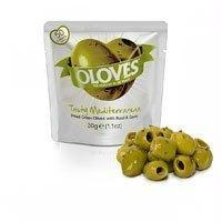 Milas Oloves Tasty Mediterranean 1.1 Oz (Pack of 12)