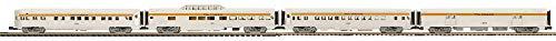 MTH 20-64048 Chesapeake & Ohio 4-Car 70' Streamlined Passenger Set (Ribbed Sided) no. 1200