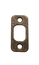 Kwikset Deadbolt Strike Plate (US5-Antique Brass)