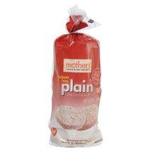 Mother's Plain Rice Cakes, No Salt 4.5 oz. (Pack of 12)
