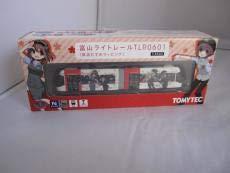 1/150 トミーテック 鉄道コレクション 富山ライトレールTLR0601 鉄道むすめラッピング B07SVTSJF1