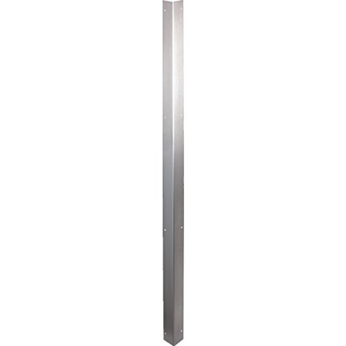 2 x 48 Stainless Steel Corner Guard Package of 5 by HD SUPPLY