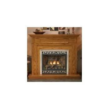 Amazon Com Deluxe 42 Quot Direct Vent Ng Millivolt Fireplace