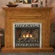 Deluxe Direct Vent Fireplace - Deluxe 42