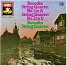 Borodin: String Quartet No. 1 in A Major; String Quartet No. 2 in D Major