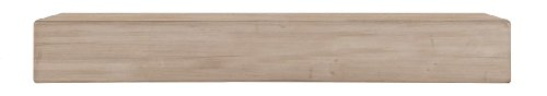 Pearl Mantels 496-60 Lexington 60-inch Mantel Shelf, Unfinished by Pearl Mantels