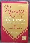 Russia And The Soviet Union: An Historical Introduction--second Edition (Agriculture Science and Policy)