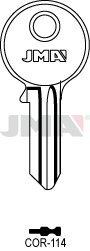 10 X COR-114 Corbin JMA Key Blanks