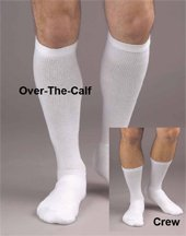 Activa® CoolMax® Athletic Support Socks, 20-30 mm Hg Crew Medium # H31312 - Activa Compression Socks