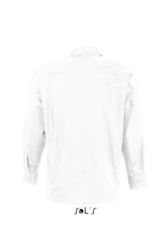 SOL´S Mens Long Sleeved Shirt Bradford, Größe:4XL, Farbe:White
