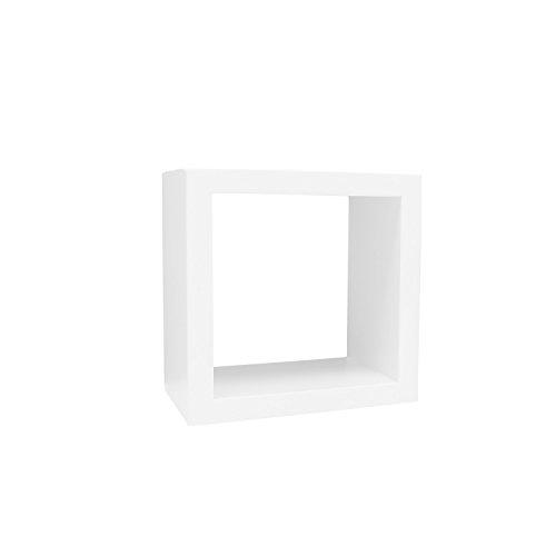Tangerine Art Display Cube Small Decorative Shelf/Gallery Wa
