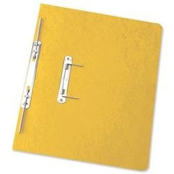 Elba Boston Spiral Transfer Spring File 300 micron for 32mm Foolscap Yellow Ref A66719 [Pack of 25]