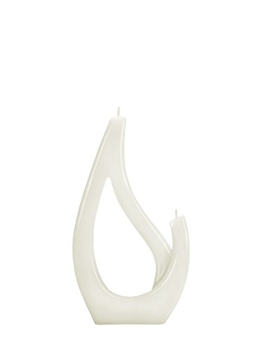 Alusi Multiflame Candle Saba Petit White, Vanilla Scent by Alusi Candles