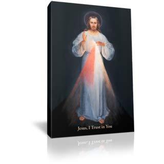 Divine Mercy Jesus - St Joseph Communications Divine Mercy (Vilnius) - Gallery Wrapped - 5 x 8