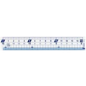 生活日用品 (まとめ買い) 再生PET定規はしゼロメモリ 15cm APJ72 1個 【×80セット】 B074JVGCC3