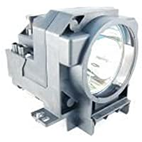 Replacement Lamp Module for Epson ELPLP23 V13H010L23 Projectors (Includes Lamp and Housing)
