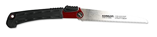 Komelon US-210 Utility Folding Saw, 8'', Red Aluminum by Komelon