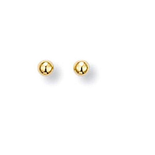 SF Bijoux - Boucles d'oreilles plaqué or - Enfant