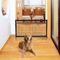 Fensas Para Perros Accesorios Para Perros Gatos Ajustable Madera Solida Cherry Se Para Sola