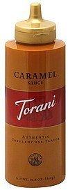 Torani Caramel Sauce 16.5 OZ (Pack of 18)