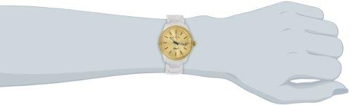 Invicta Women's 14909 Ceramics Gold Dial White Ceramic Watch