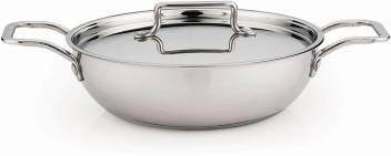 Pigeon-Milano-Kadhai-26-cm-with-Lid-2500-ml-Stainless-Steel