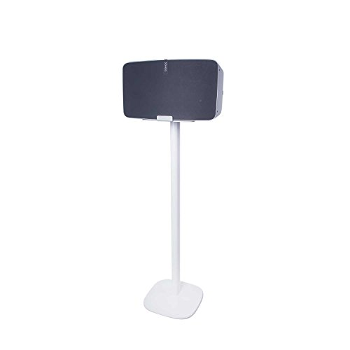 Vebos floor stand Sonos Play 5 gen 2 white en optimal experience in every room - Allows you to place your SONOS PLAY 5 exactly where you want it - Two years warranty by Vebos