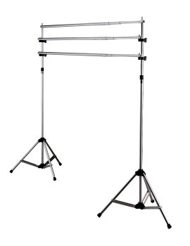 Deluxe Background Stand System - 3 Crossbars by Da-Lite