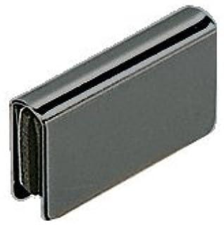 Amazon glass door pivot hinge satin black pair home crl black rectangular strike plate planetlyrics Image collections