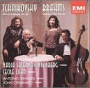 Tchaikovsky: Trio in A Minor, Op. 50/Brahms: Trio in E-flat, Op. 40 for Piano, Violin and Horn