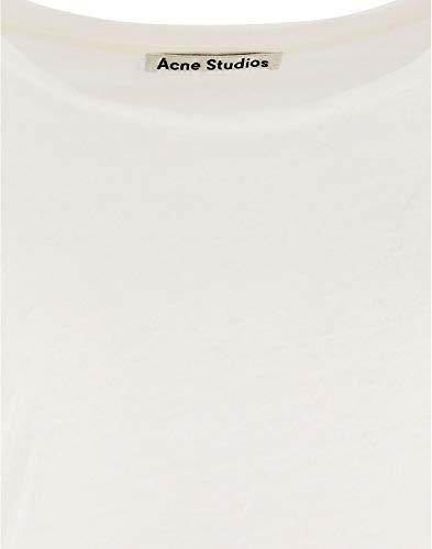 Blanc 15g176100 Acne Lin Studios Femme shirt T xUvSOv