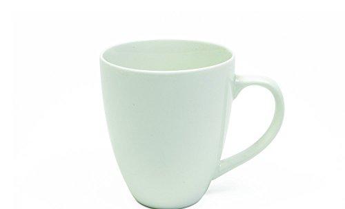 Maxwell and Williams Basics Coupe Mug, 16.5-Ounce, White