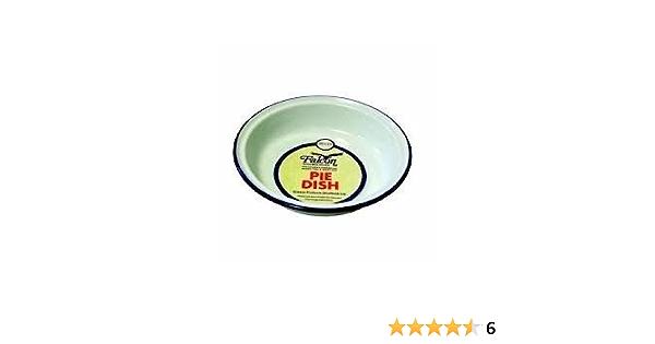 Falcon Enamel Tin Metal Camping Pie Dish Bowl 5 Sizes Roasting Baking