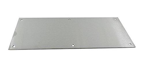 Saa Satin (Satin Aluminium Kick Plate SAA - 720mm x 150mm by Charles Watson)