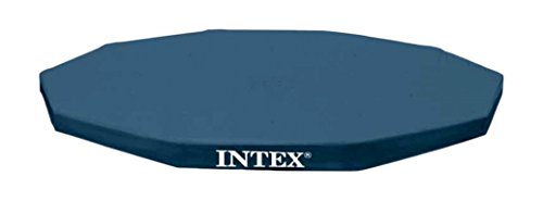Intex 10-Foot Round Metal Frame Pool Cover (Pool Debris Cover)