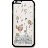 609 Tower - Cool Vintage Hot Air Balloons Over Paris Eiffel Tower Design case for iPhone 6 Plus 6S Plus