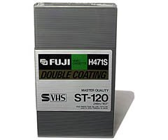Fuji Broadcast Quality S-VHS Videocassette by Fujifilm
