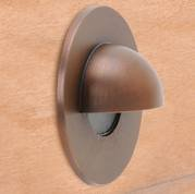 SPJ-GDG-3EB-MBR Cast Brass Recessed Eye Lid Light Matte Bronze Finish by SPJ Lighting