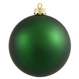 Vickerman 31453943 60 Count Matte Teal Shatterproof Christmas Ball Ornaments 2.5 Green