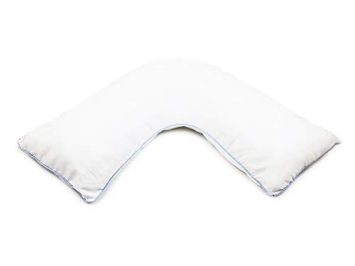 (Comfort Finds L Shaped Sleep Pillow – Hip Knee Pillow Pain Relief - Ergonomic Pillow – Sleeping Neck Pillow )