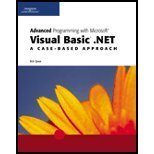 Intermediate Programming with Visual Basic.Net, Spear, Robert J., 0619159162