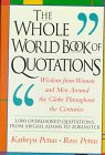 The Whole World Book of Quotations, Kathryn Petras, Ross Petras, 0201622580