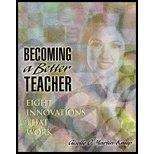 Becoming a Better Teacher- Eight Innovations That Work by Martin-Kniep,Giselle O.. [2000] Paperback
